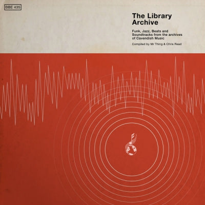VARIOUS ARTISTS The Library Archive (Funk, Jazz, Beats And Soundtracks From  The Vaults Of Cavendish Music) vinyl 2LP