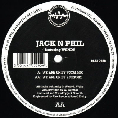 JACK N PHIL - We Are Unity (Remixes)