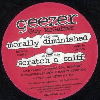 GEEZER - Morally Diminished / Scratch n' Sniff
