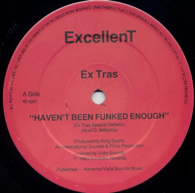 EX TRAS - Haven't Been Funked Enough