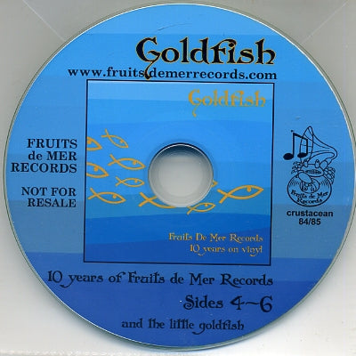 VARIOUS - 10 Years Of Fruits De Mer Records