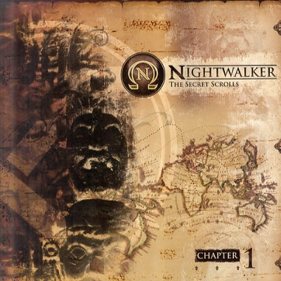 NIGHTWALKER - The Secret Scrolls LP (Chapter 1)