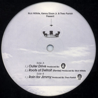 RICK WILHITE / THEO PARRISH / KENNY DIXON JR - Three Chairs EP