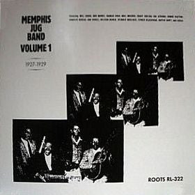 MEMPHIS JUG BAND - Volume 1 1927-1929