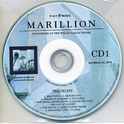 MARILLION - Unplugged At The Walls