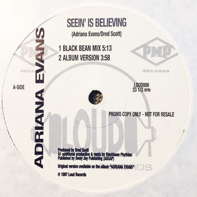 ADRIANA EVANS - Seein' Is Believing