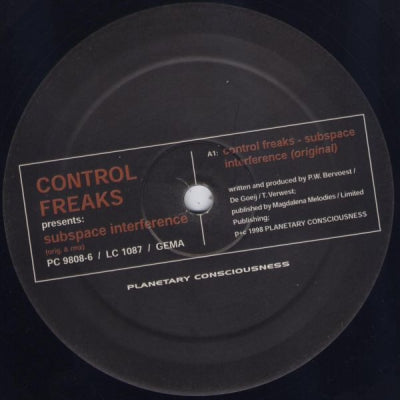 CONTROL FREAKS - Subspace Interference