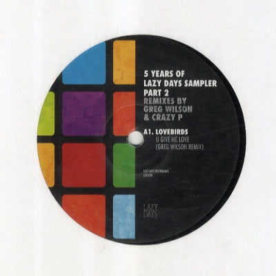 VARIOUS - 5 Years Of Lazy Days Sampler Part 2