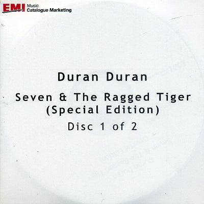 DURAN DURAN - Seven & The Ragged Tiger (Special Edition)