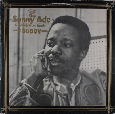 KING SUNNY ADE AND HIS AFRICAN BEATS Bobby vinyl LP