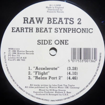 EARTH BEAT SYNPHONIC / THE MOVEMENT - Raw Beats 2