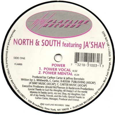 NORTH & SOUTH FEATURING JA'SHAY - Power