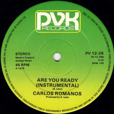 CARLOS ROMANOS - Are You Ready