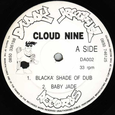 CLOUD NINE - Blacka' Shade Of Dub