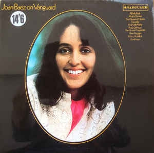 JOAN BAEZ - Joan Baez On Vanguard
