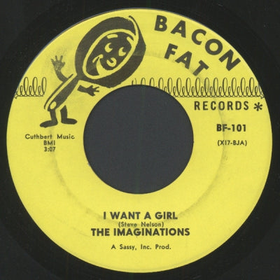 THE IMAGINATIONS - I Want A Girl / I Love You, More (Than Anyone)