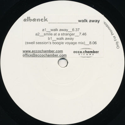 ALBANEK - Walk Away