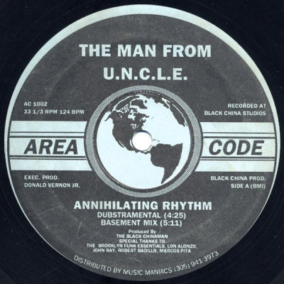 THE MAN FROM U.N.C.L.E. - Annihilating Rhythm