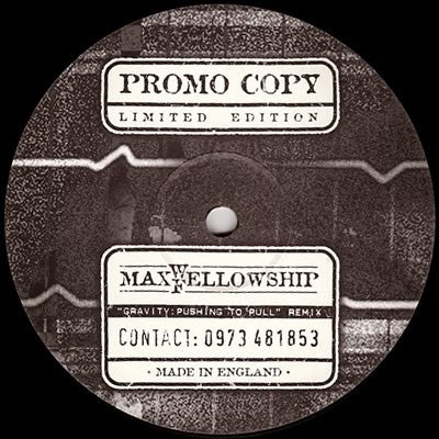 MAXWELL - Gravity: Pushing To Pull (Fellowship Remix)
