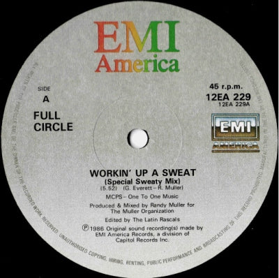 FULL CIRCLE - Workin' Up A Sweat