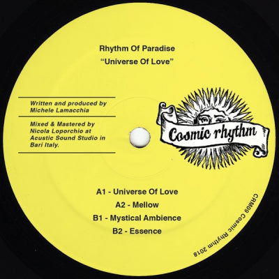 RHYTHM OF PARADISE - Universe Of Love