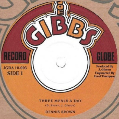 DENNIS BROWN / PRINCE ALLAH - Three Meals A Day / Naw Go A Them Burial