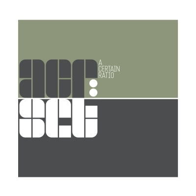 A CERTAIN RATIO - acr:set