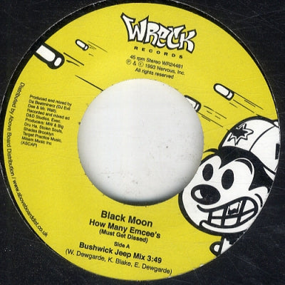 BLACK MOON - How Many Emcee's (Must Get Dissed)