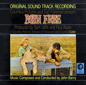 JOHN BARRY - Born Free - Original Soundtrack Recording