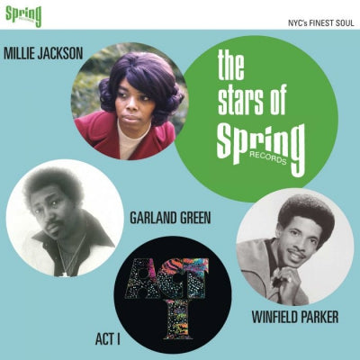 ACT I / GARLAND GREEN / MILLIE JACKSON / WINFIELD PARKER - The Stars Of Spring Records