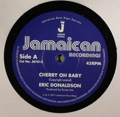 ERIC DONALDSON - Cherry Oh Baby / Version