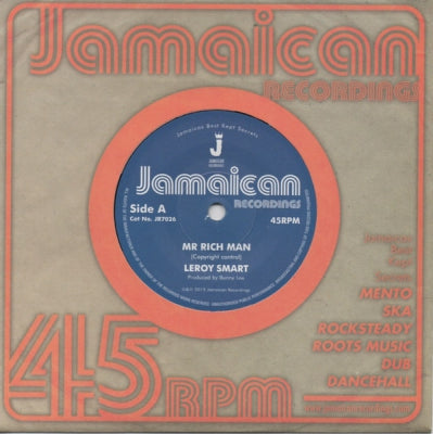 LEROY SMART - Mr. Rich Man / Version