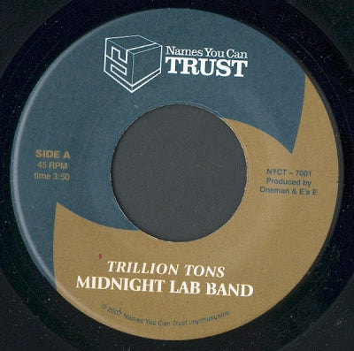 MIDNIGHT LAB BAND - Trillion Tons / TNT Breeze