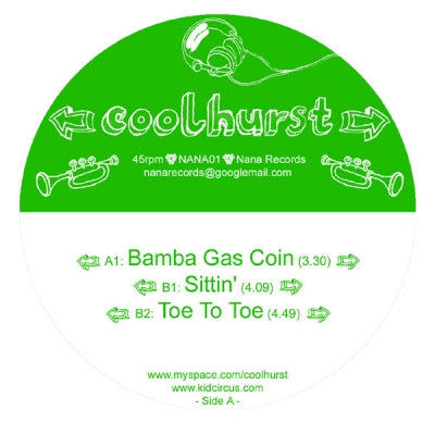 COOLHURST - Bamba Gas Coin / Sittin' / Toe To Toe