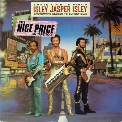 ISLEY JASPER ISLEY - Broadway's Closer To Sunset Blvd