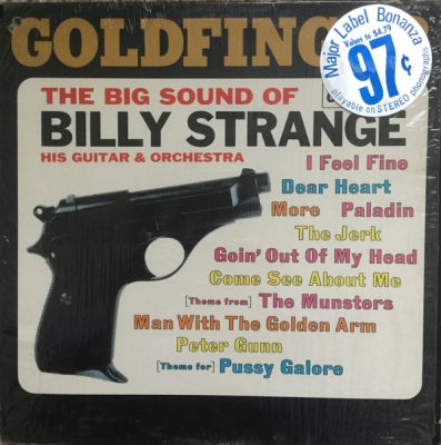 BILLY STRANGE - Goldfinger (The Big Sound Of Billy Strange His Guitar & Orchestra)