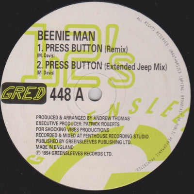 BEENIE MAN - Press Button