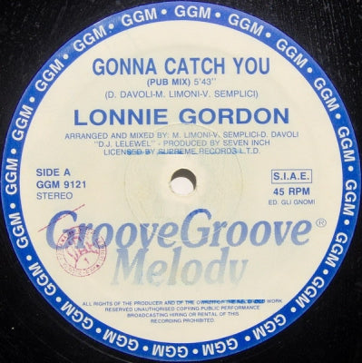 Gordon Lonnie Catch You 12 Gonna Vinyl jLSUqpVGzM