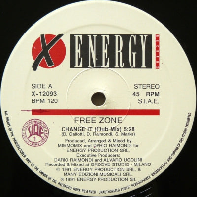 FREE ZONE - Change It