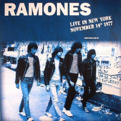 RAMONES - Live In New York November 14th 1977