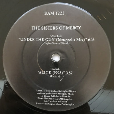 SISTERS OF MERCY - Under The Gun