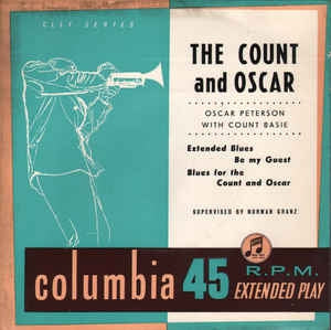 OSCAR PETERSON WITH COUNT BASIE - The Count And Oscar
