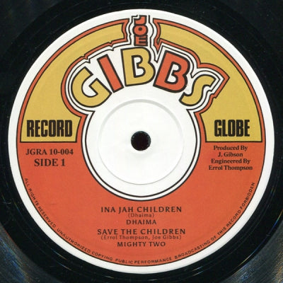 DHAIMA & DENNIS BROWN - Ina Jah Children / A True
