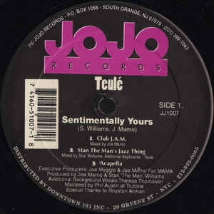 TEULE - Sentimentally Yours