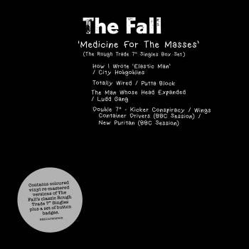 THE FALL - Medicine For The Masses - The Rough Trade Singles