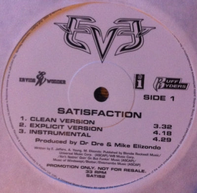 EVE - Satisfaction
