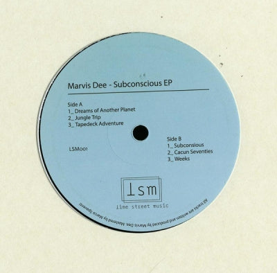 MARVIS DEE - Subconscious