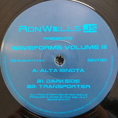 RONWELLSJS - Waveforms Volume III