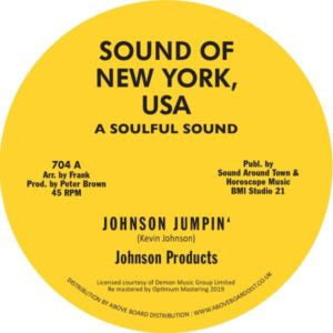 JOHNSON PRODUCTS / WILLIE WOOD & WILLIE WOOD CREW - Johnson Jumpin' / Willie Rap