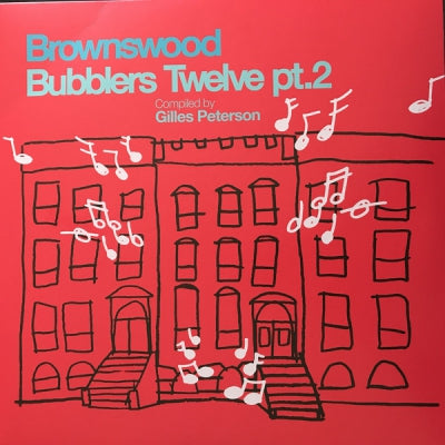 VARIOUS ARTISTS - Brownswood Bubblers Twelve pt.2 Compiled By Gilles Peterson